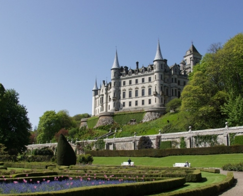 Dunrobin Castle our local castle