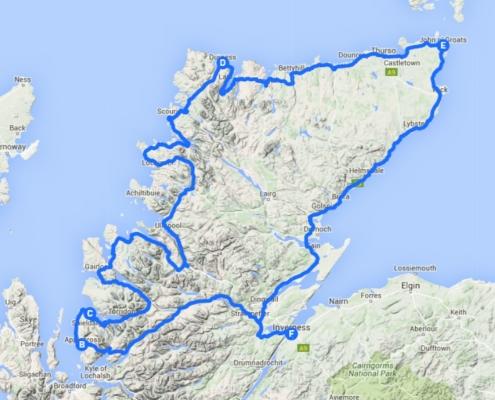 North Coast 500 Route (NC500)